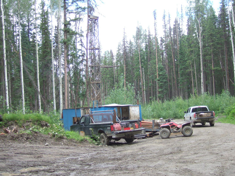 Woodjam Southeast Zone Drilling, July 2007